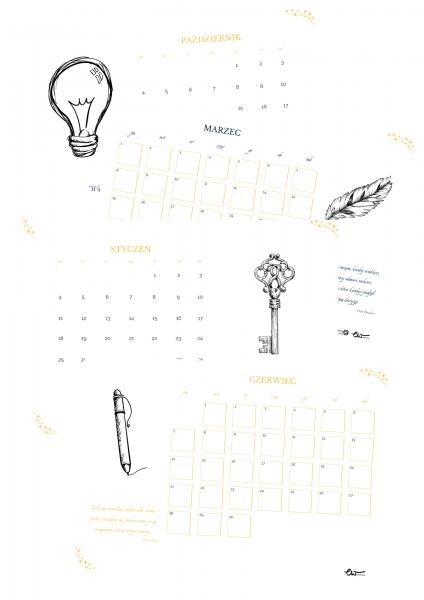planer biznes, kalendarz
